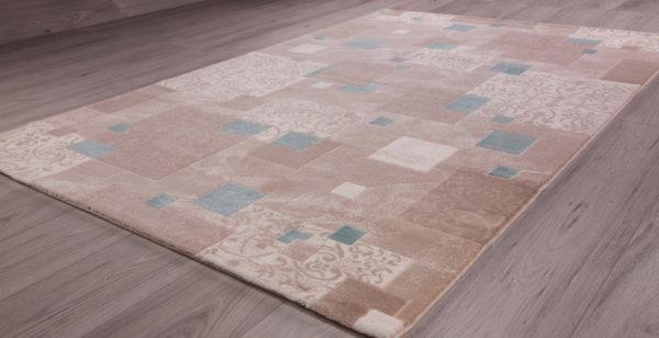 килим сафир 1606 беж/тюркоаз